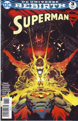 Comics Dc Universe Rebirth Superman # 3 Nuevo