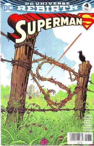 Comics Dc Universe Rebirth Superman # 4 Nuevo