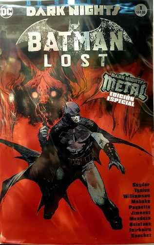 Dark Nights Batman Lost - Televisa Dc Comics Mexico