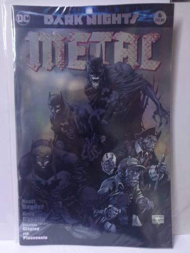 Dark Nights Metal Vol.6 Variante Jim Lee Dc Televisa 2018