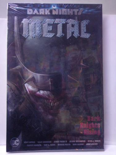 Dark Nights Rising Metal Portada 1 Dc Deluxe Pasta Dura