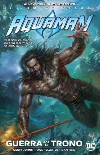 Dc Comics, Aquaman: Guerra Por El Trono, Deluxe, Español