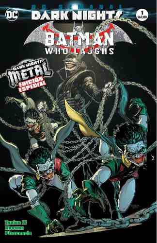 Dc Comics, Dark Nights Metal, Batman Who Laughs, Español