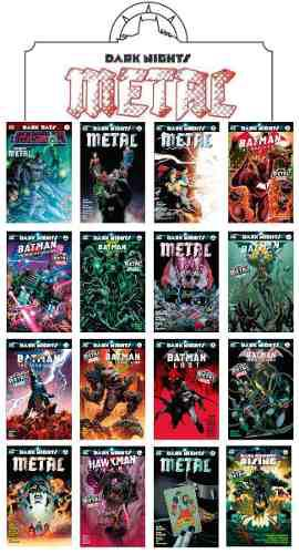 Dc Comics, Dark Nights Metal, Varios, Español