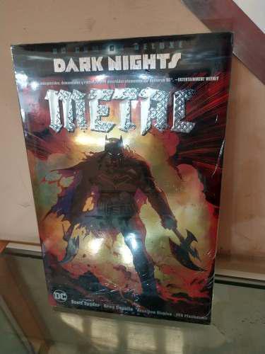Dc Comics Deluxe Dark Knights Metal Español Envio Gratis