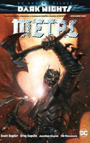 Dc Comics Deluxe Dark Nights: Batman Metal Nuevo Y Sellado