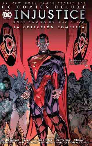 Dc Comics Deluxe: Injustice: Gods Among Us Año 5, Español