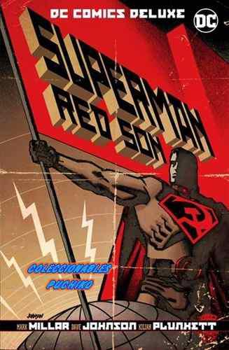 Dc Comics Deluxe Superman Red Son Hijo Rojo Pasta Dura Batma
