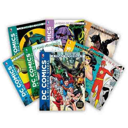 Dc Comics - Historia Visual - Colección De 8 Tomos