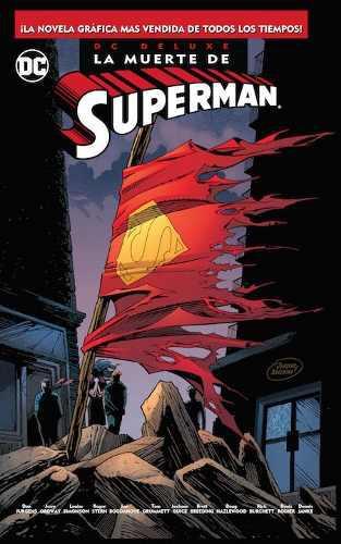 Dc Comics, La Muerte De Superman, Deluxe, Español Y Sellado