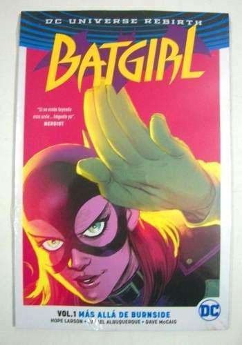 Dc Comics Rebirth Batgirl Vol 1 Más Allá De Burnside