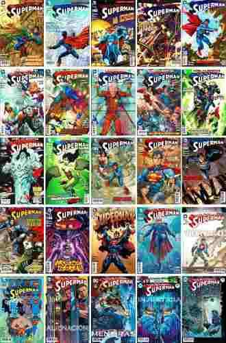 Dc Comics Superman 2 3 11 12 13 14 15 16 17 18 19 20 21 24