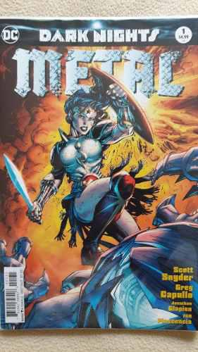 Dc Universe Rebirth: Dark Nights Metal #1 Jim Lee Cover