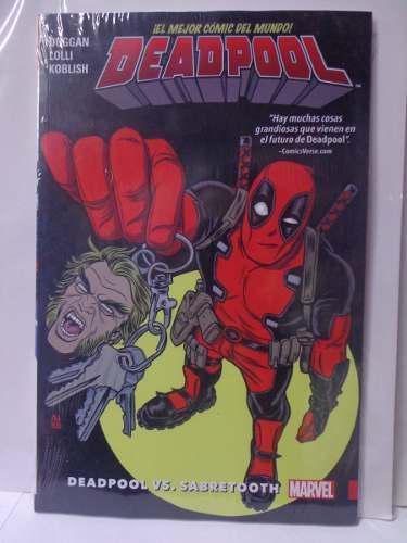 Deadpool Vol.3 (vol.8 Al 12) Tpb Coleccion Marvel 23