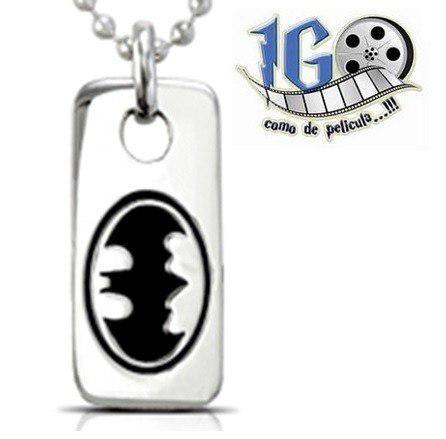 Dije Batman Tag Caballero D La Noche Original Dc Comics Igo!