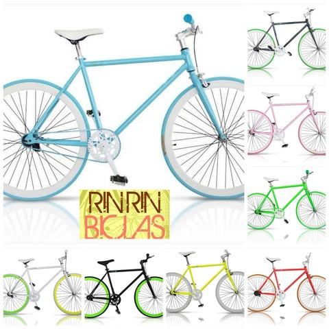 Diseños especiales, bicicletas fixie, vintage