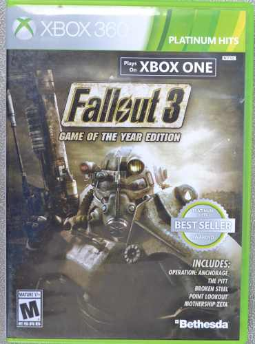 Fallout 3 Xbox 360 & Xbox One Play Magic