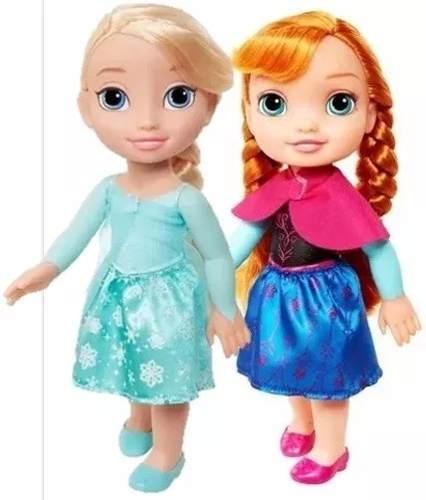 Frozen Anna Y Elsa, 32 Cm Envio Gratis Ruz Jakks