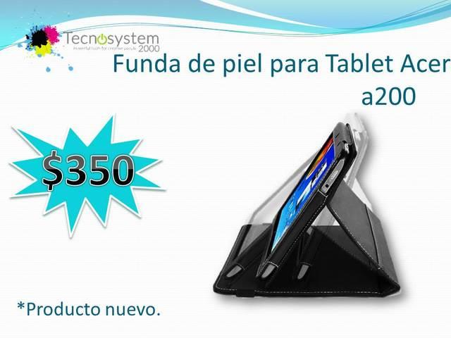 Funda de piel para Tablet Acer A200