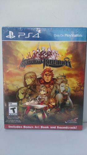 Grand Kingdom Launch Edition - Playstation 4 Ps4