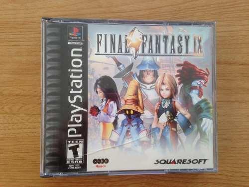 Juego Playstation Ps1 Final Fantasy Ix Original