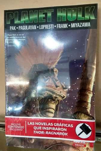 Marvel Comics Planet Hulk Y Unworthy Thor Completos 2x1