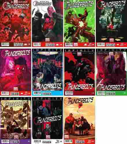 Marvel Comics Thunderbolts 4 5 9 12 13 14 15 16 17 18 19 Now