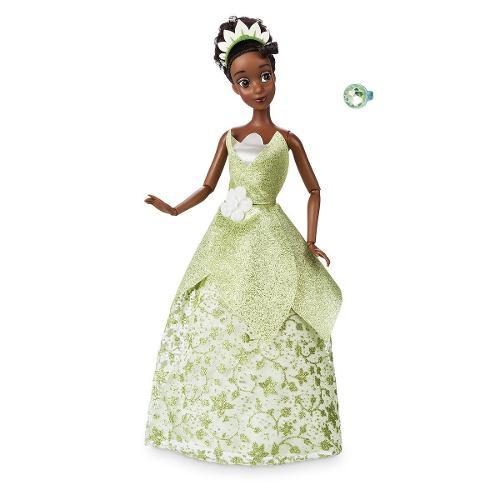 Muñeca Tiana La Princesa Y El Sapo Disney Store 30 Cm V