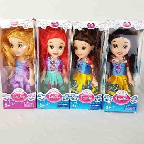Muñecas Princesas 15 Cm Hermosas Gran Detalle