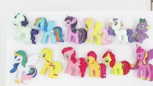 My Little Pony Set 12 Pz + Envió Gratis