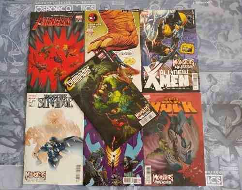 Numeros Uno De Monsters Unleashed! De Marvel Mexico