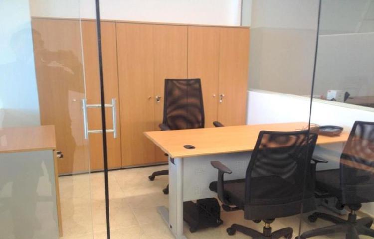 Oficina en Renta AMUEBLADA en Corporativo Horizonte, Bosques