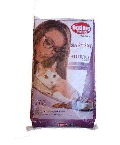 Optimo Felino Gato 20kg Nupec Envio Gratis Star Pet Shop