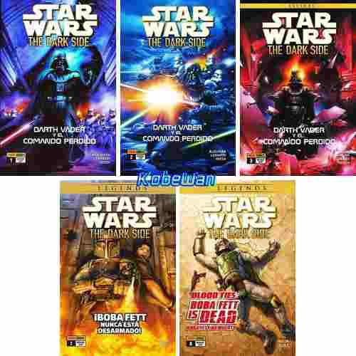 Panini Comics Star Wars The Dark Side 1 2 3 7 8 Starwars Vad