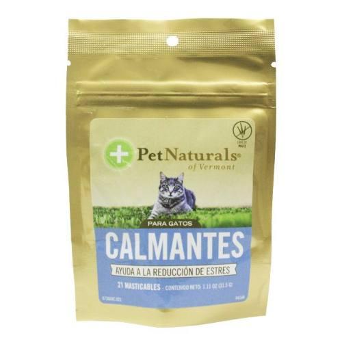 Pet Naturals - Calmantes Para Gatos - 0.11 Kg.