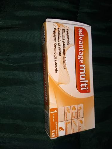 Pipeta Anti Pulgas Advantage Multi® Gato De 0 A 4 Kg
