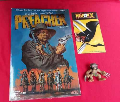 Preacher Volumen 3, Vertigo Comics Editorial Televisa
