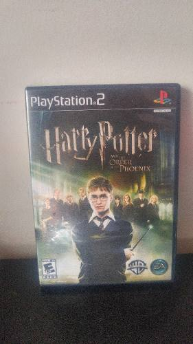 Ps2 Harry Potter And The Order Of Phoenix Videojuego Rpg Usa