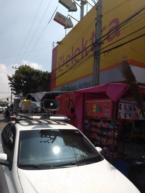 Publicidad con perifoneo en Ciudad de México