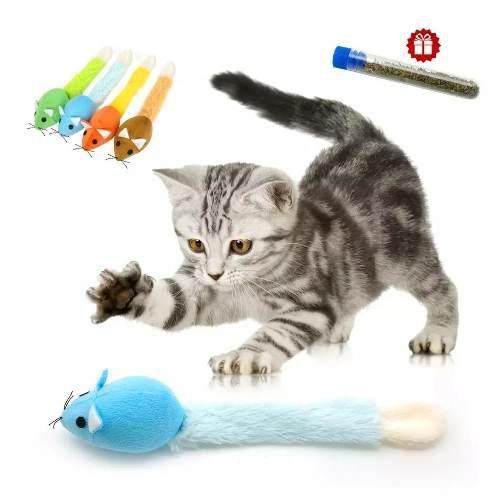 Raton Con Catnip Juguete Para Gato