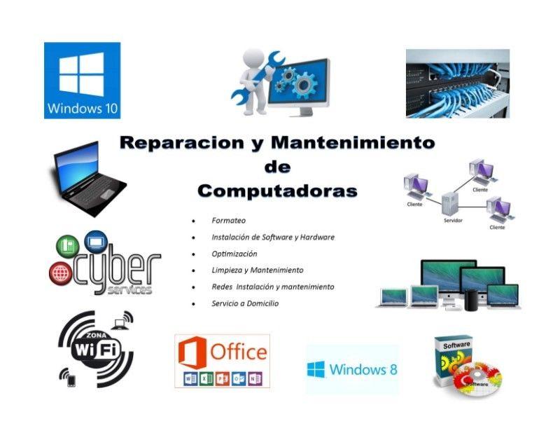 Reparación y Mantenimiento de Computadoras