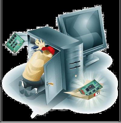 Reparación y mantenimiento a computadoras y laptops