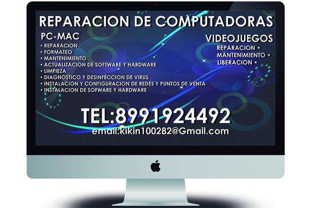 Reparacion y mantenimiento de computadoras y videojuegos