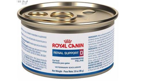 Royal Canin Renal Support D Para Gato. Paquete Con 12 Latas