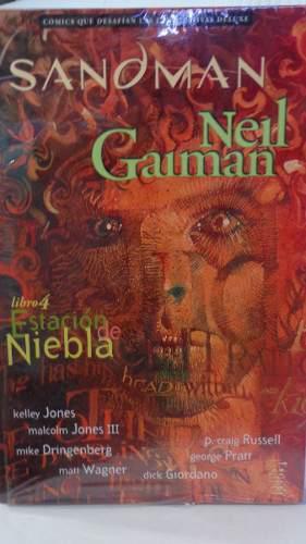 Sandman Vol.4 Estacion De Niebla Vertigo Neil Gaiman