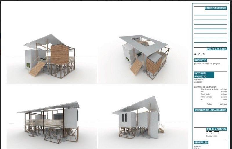 Servicios de Diseño arquitectónico, Architectural design