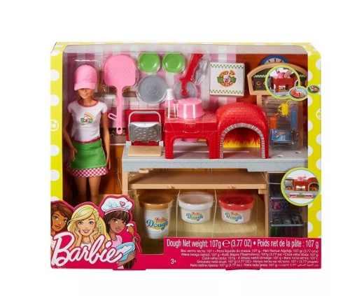Set Barbie Chef De Pizza