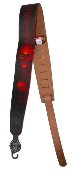 Tahalí de piel Planet Waves Stoned Leather Horror Show