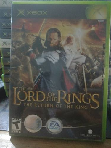 The Lord Of The Rings The Return Of The King Xbox