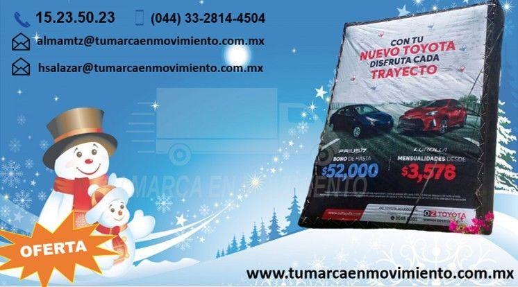 Vallas Moviles en Jalisco y servicios Impresos